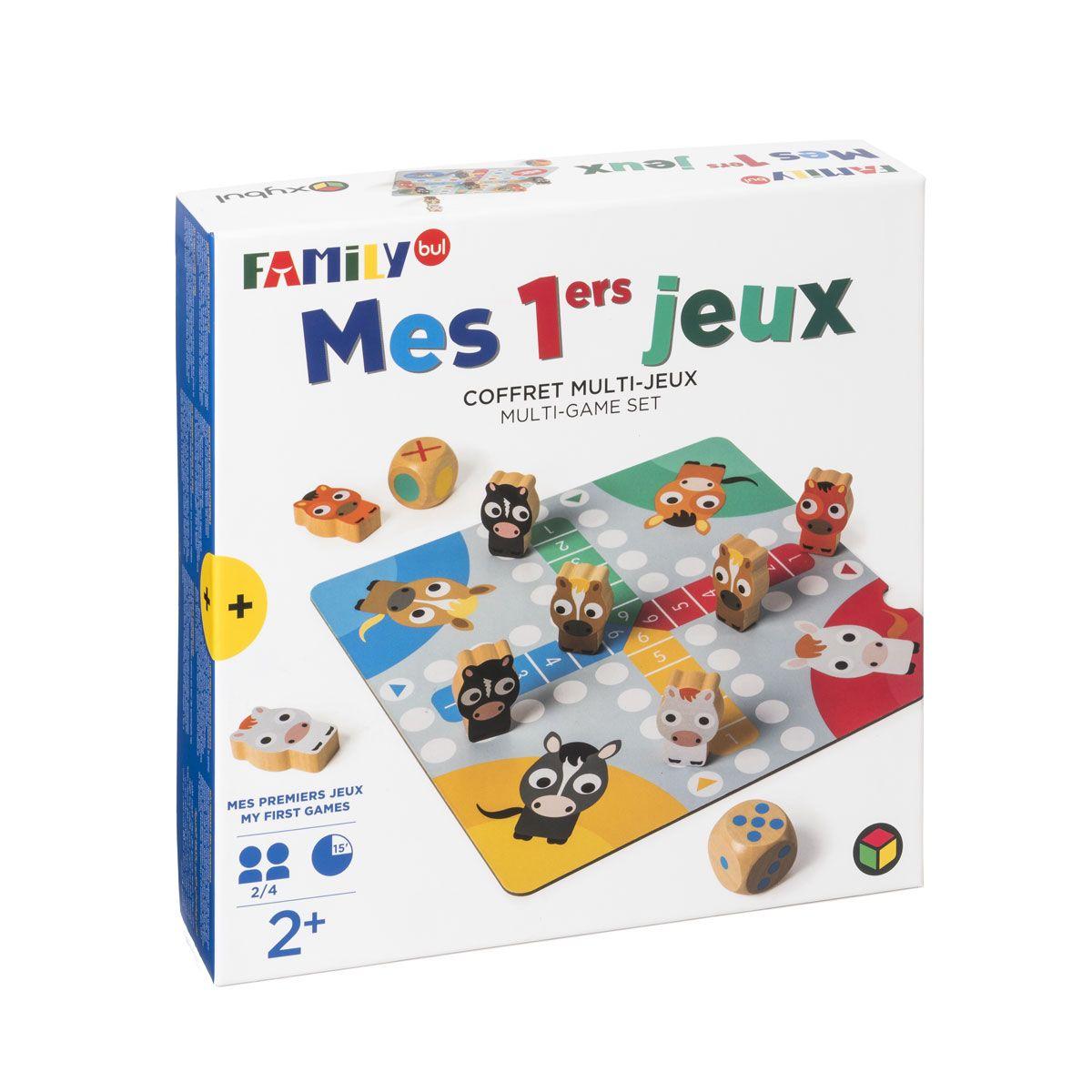 Mes Premiers Jeux De Société Familybul Création Oxybul dedans Jeux Pour Enfant De 6 Ans