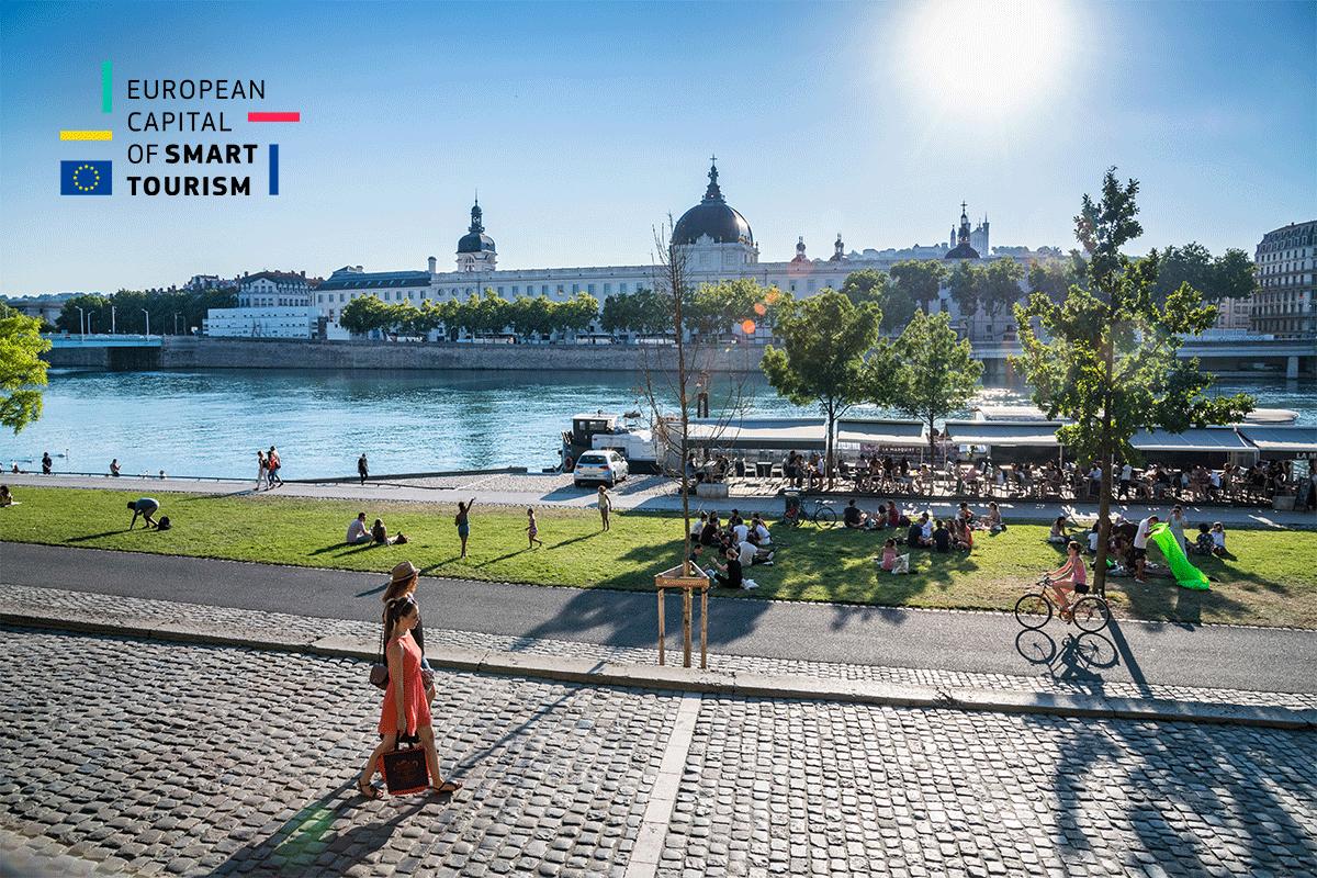 Met' – Lyon Élue Capitale Européenne Du Tourisme Durable 2019 avec Capitale Union Européenne