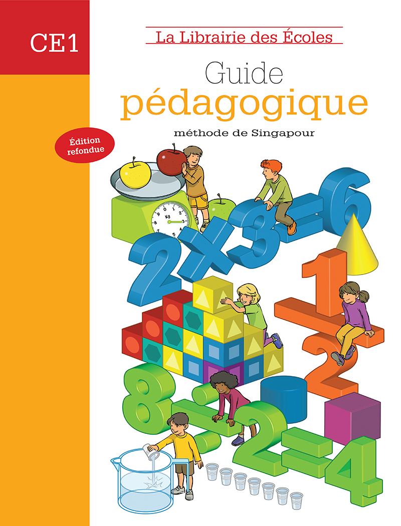 Méthode De Singapour Ce1 - Guide Pédagogique - Edition 2008 pour Jeux Educatif Ce1