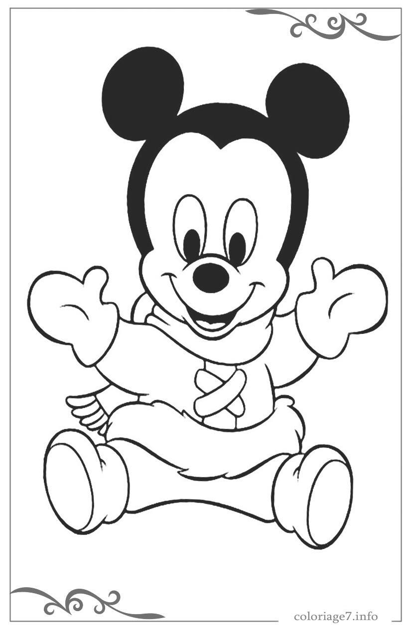 Mickey Mouse Dessins Pour Colorier En Ligne Gratuits dedans Dessin À Colorier En Ligne Gratuit