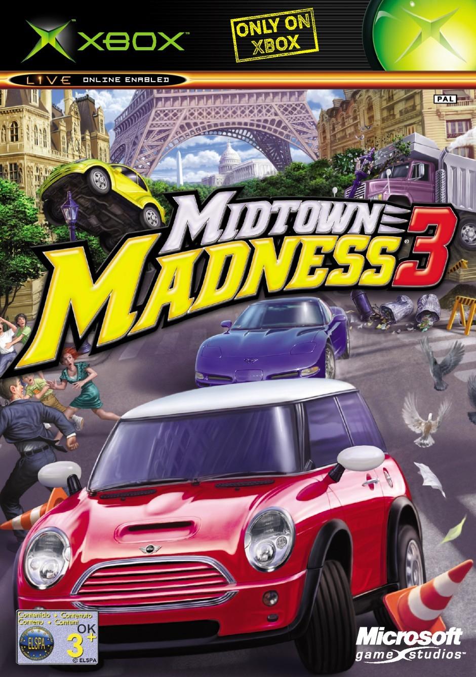 Midtown Madness 3 dedans Jeux De Mini Voiture