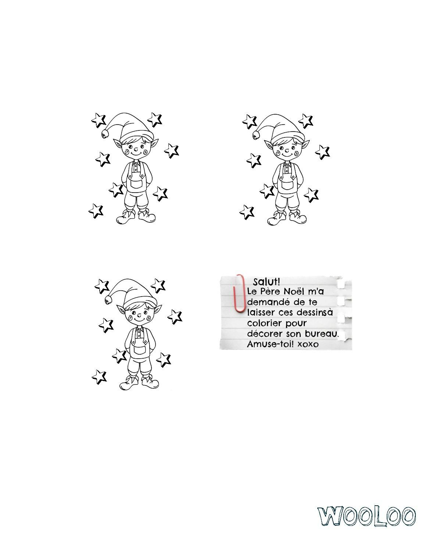 Mini Dessin De Lutin + Fichiers À Imprimer - Wooloo pour Dessiner Un Lutin