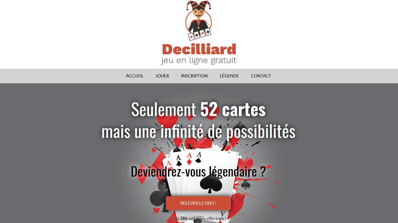 Mini Jeu En Ligne Inutile Avec Des Cartes À Jouer - Studio à Jeux De Grand Gratuit