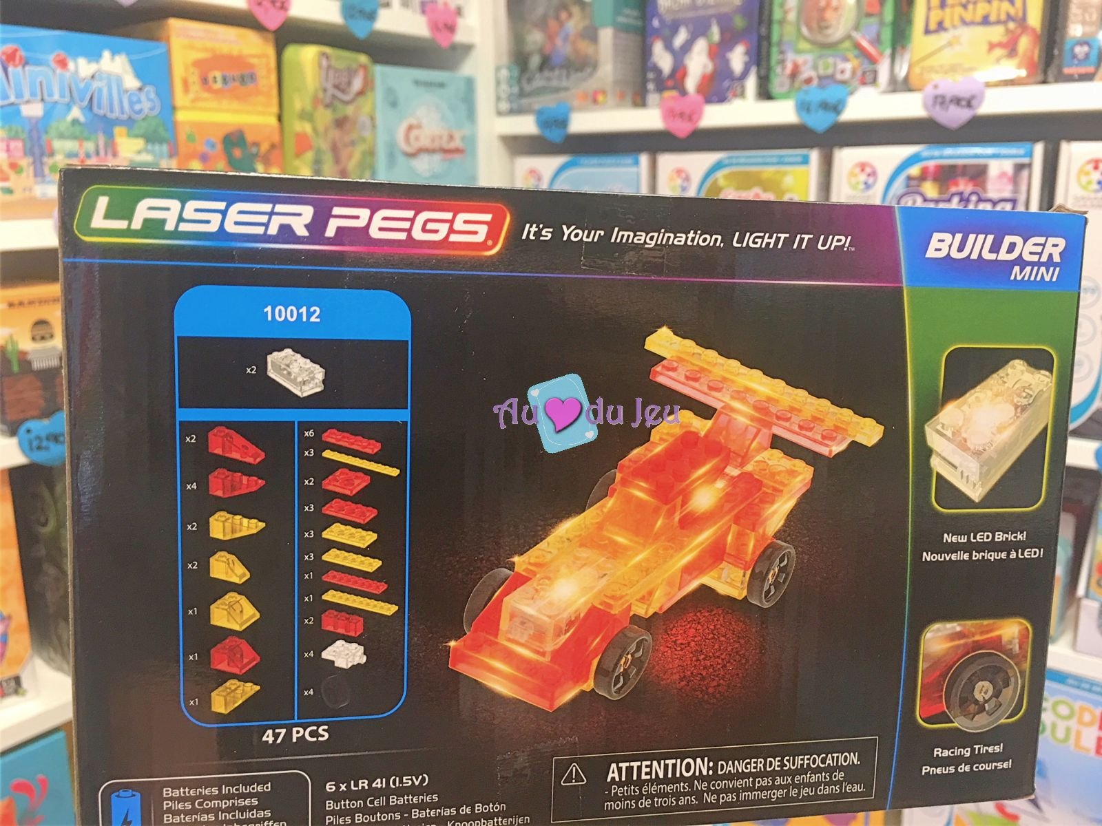 Mini Voiture - 47 Pièces pour Jeux De Mini Voiture