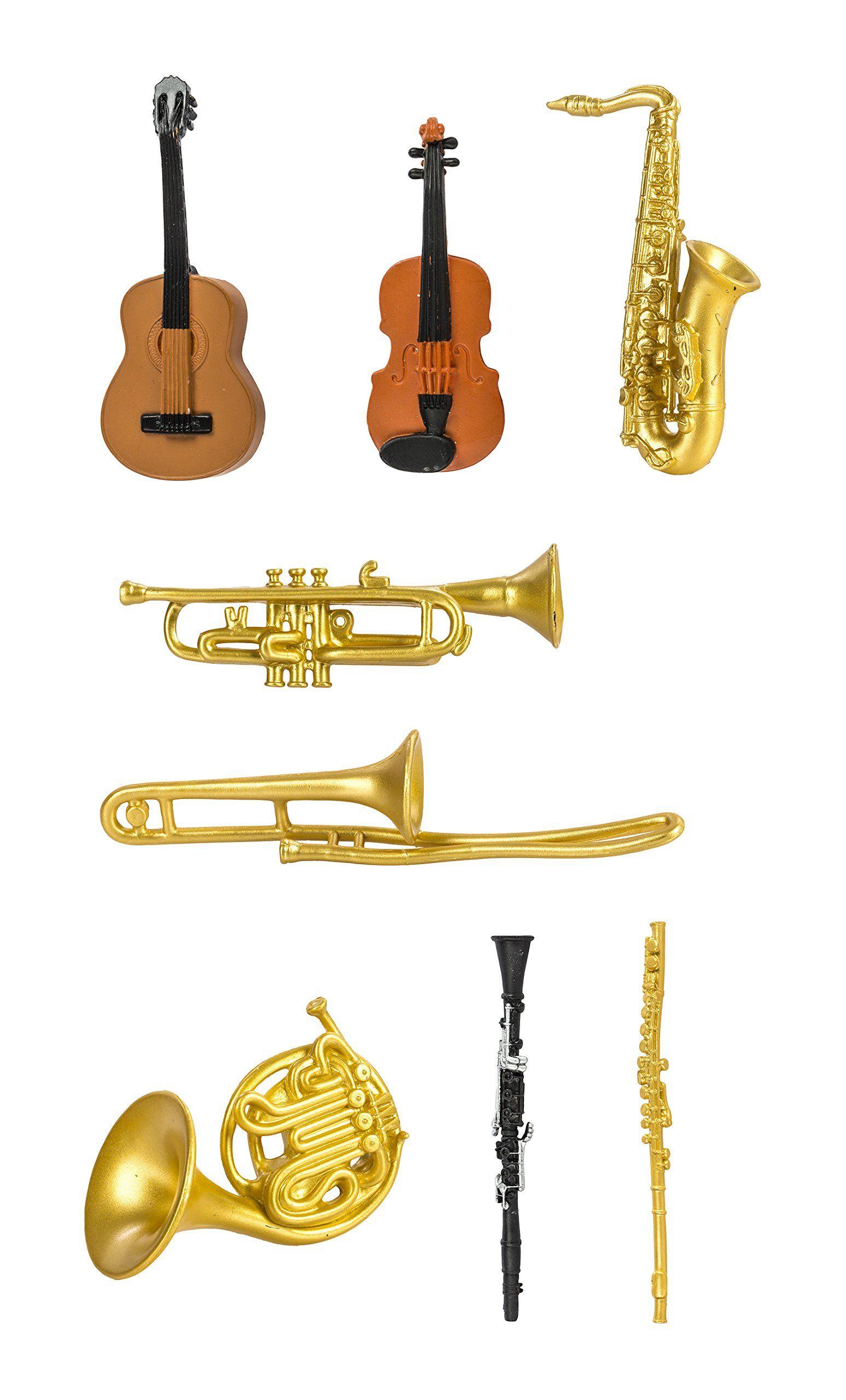 Miniatures En Plastique Toobs-Musical Instruments: Amazon.fr dedans Jeu Des Instruments De Musique