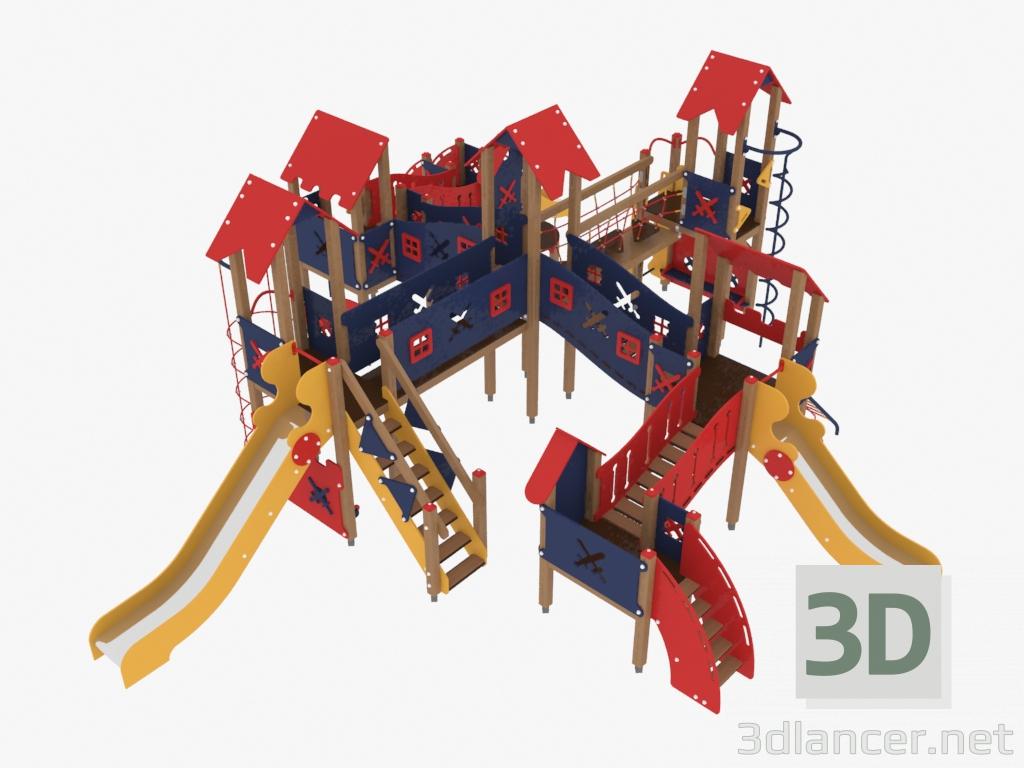 Modèle 3D Complexe De Jeux Pour Enfants (3701),наш Двор Max concernant Jeux Pour Enfan Gratuit