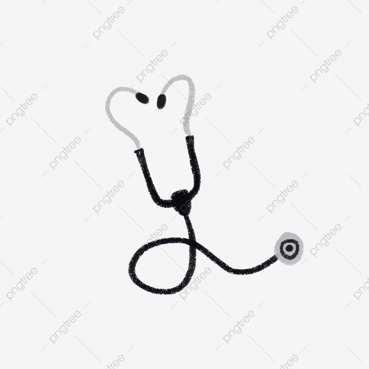Modèle Délément Déquipement Stéthoscope Équipement Médical pour Dessin Stéthoscope