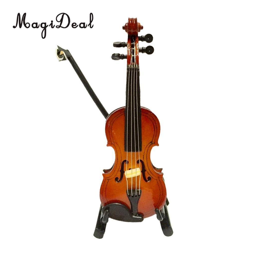 Modèle En Bois Miniature Violon Mini Instrument De Musique dedans Jeu Des Instruments De Musique