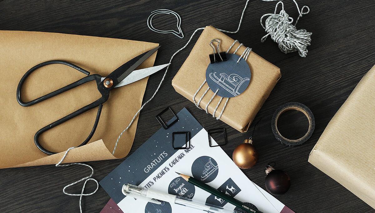 Modèles D'étiquette Cadeau À Imprimer Gratuitement ! avec Etiquette Cadeau Noel A Imprimer Gratuitement