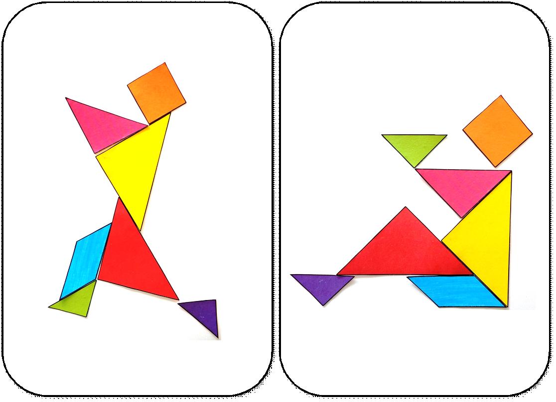 Modèles Pour Jeu Tangram À Imprimer: Maternelle,ms,gs,cycle pour Modèle Tangram À Imprimer