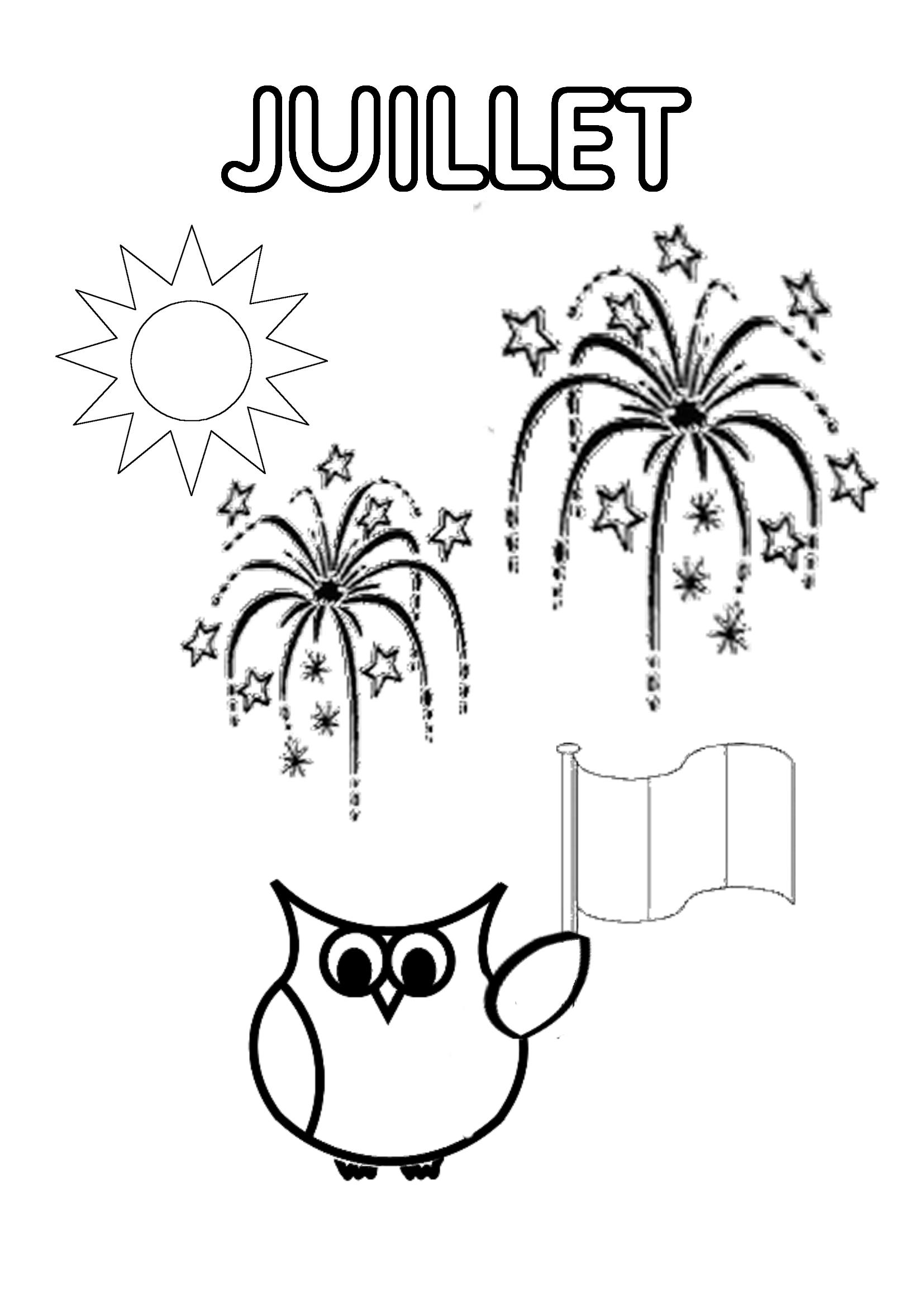 Mois De L'année - Page Du Cahier De Vie | Cahier De Vie tout Mois À Colorier Maternelle