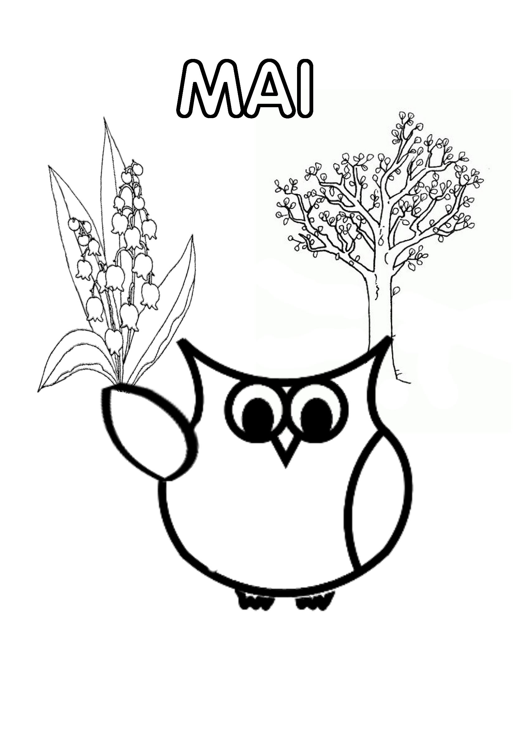 Mois De L'année - Page Du Cahier De Vie - La Classe De Jenny avec Mois À Colorier Maternelle