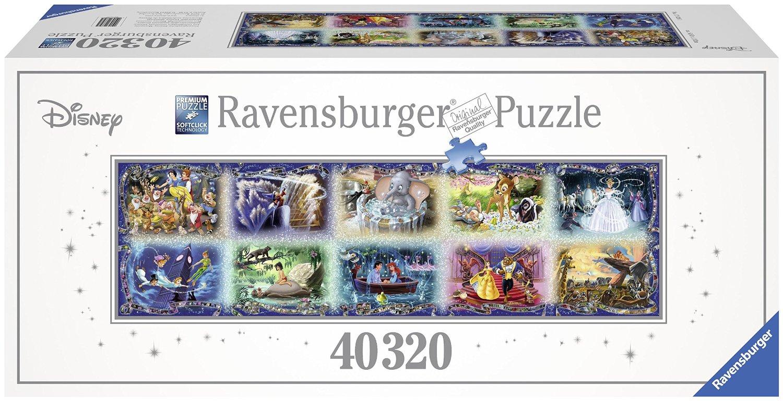 Moments Disney Inoubliables - 40320 Pièces Ravensburger intérieur Puzzle Gratuit 3 Ans
