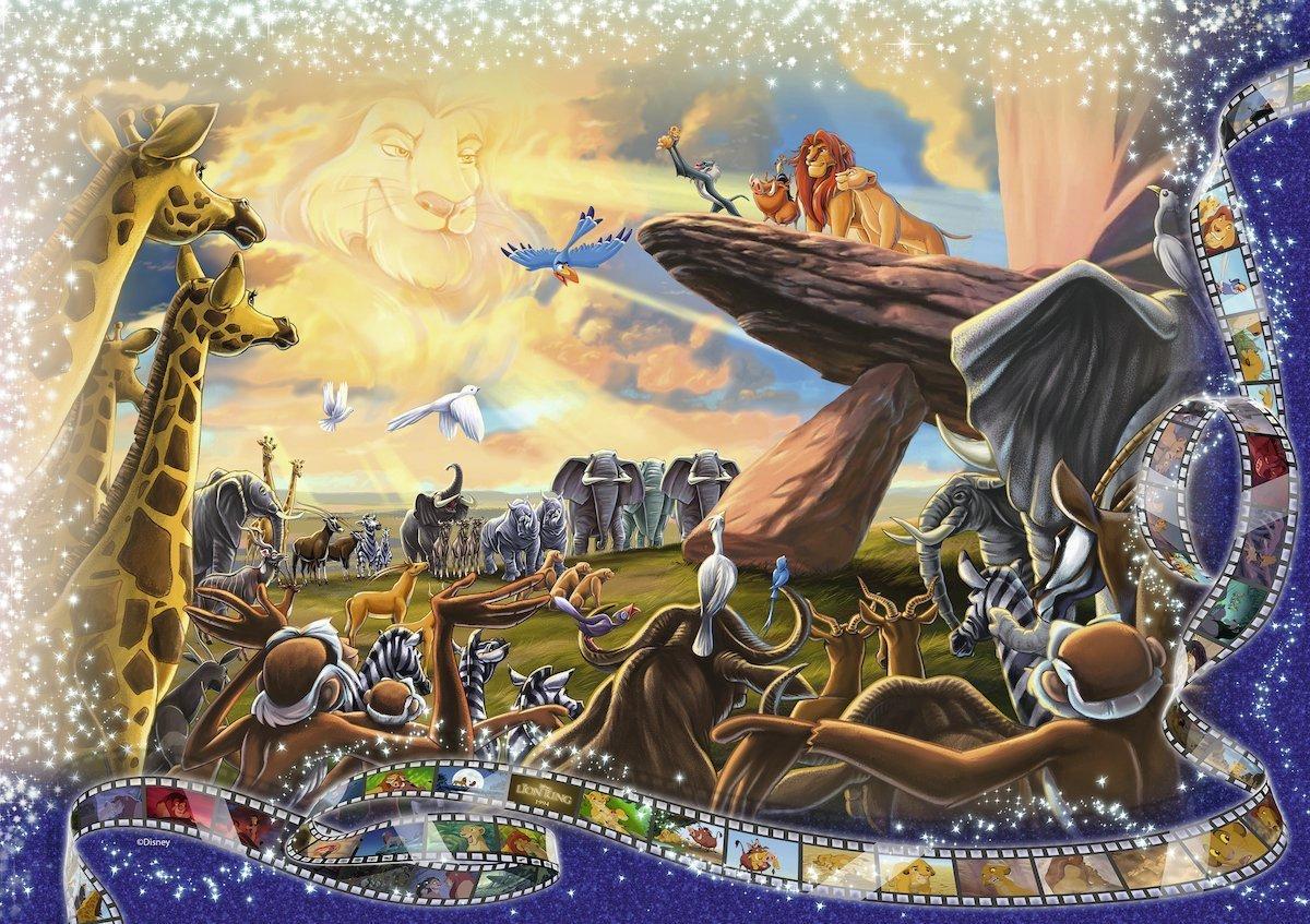 Moments Disney Inoubliables - 40320 Pièces Ravensburger tout Puzzle Gratuit 3 Ans