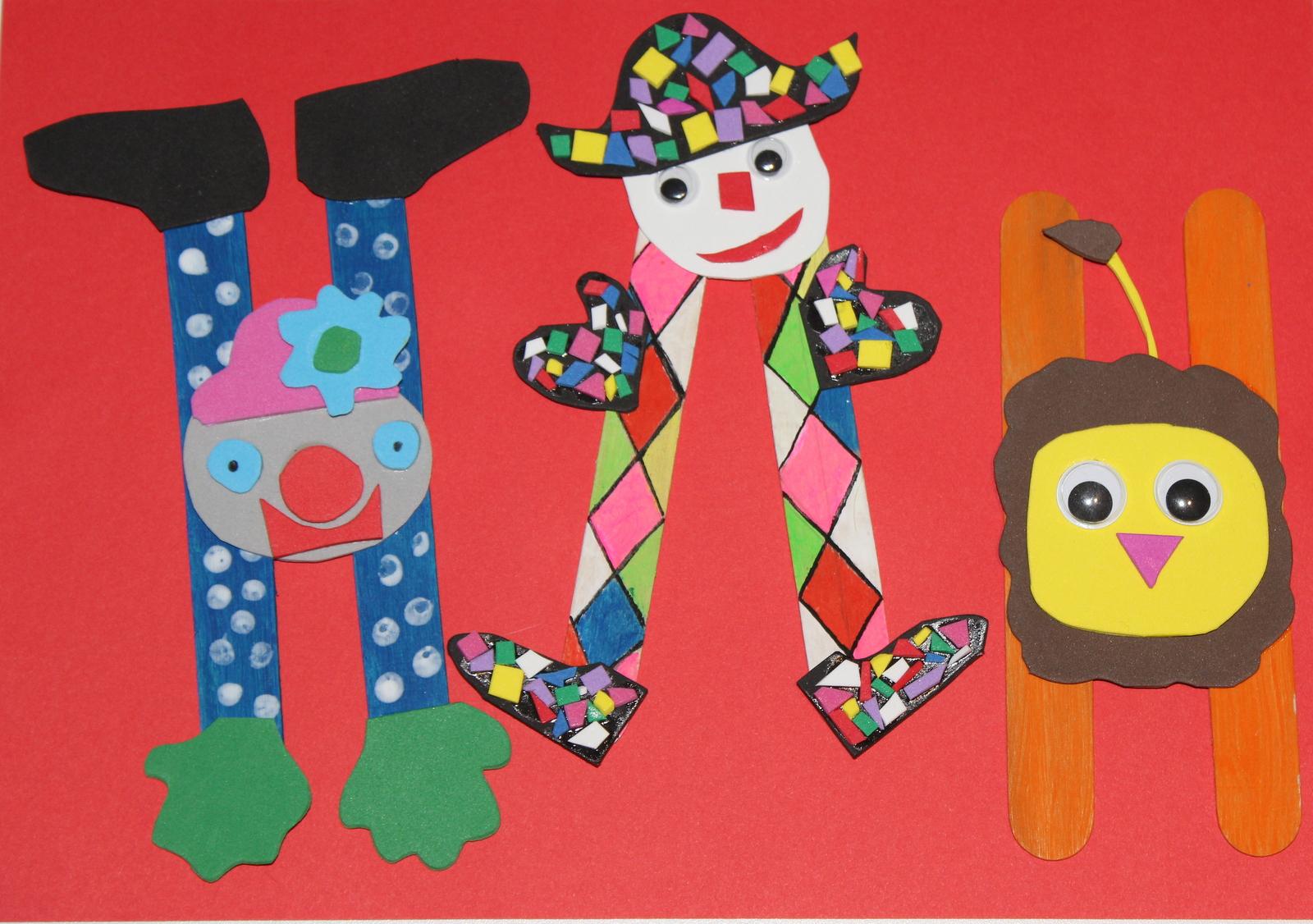 Mon Atelier Récréation: Activité Enfant : Carnaval Au Cirque ! pour Activité Manuelle Enfant 4 Ans