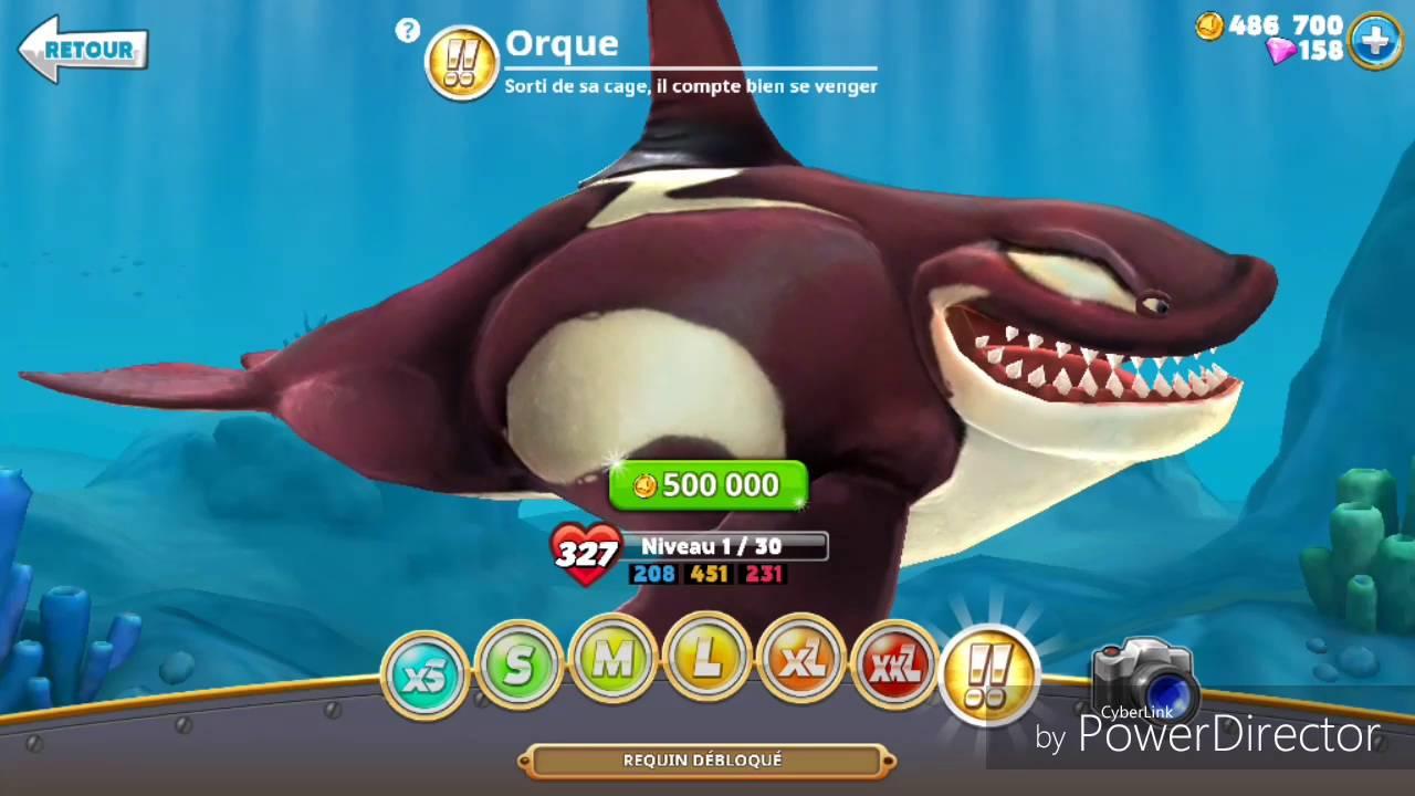 Mon Avis Personnel Sur Le Jeux Hungry Shark World !! pour Requin Jeux Video