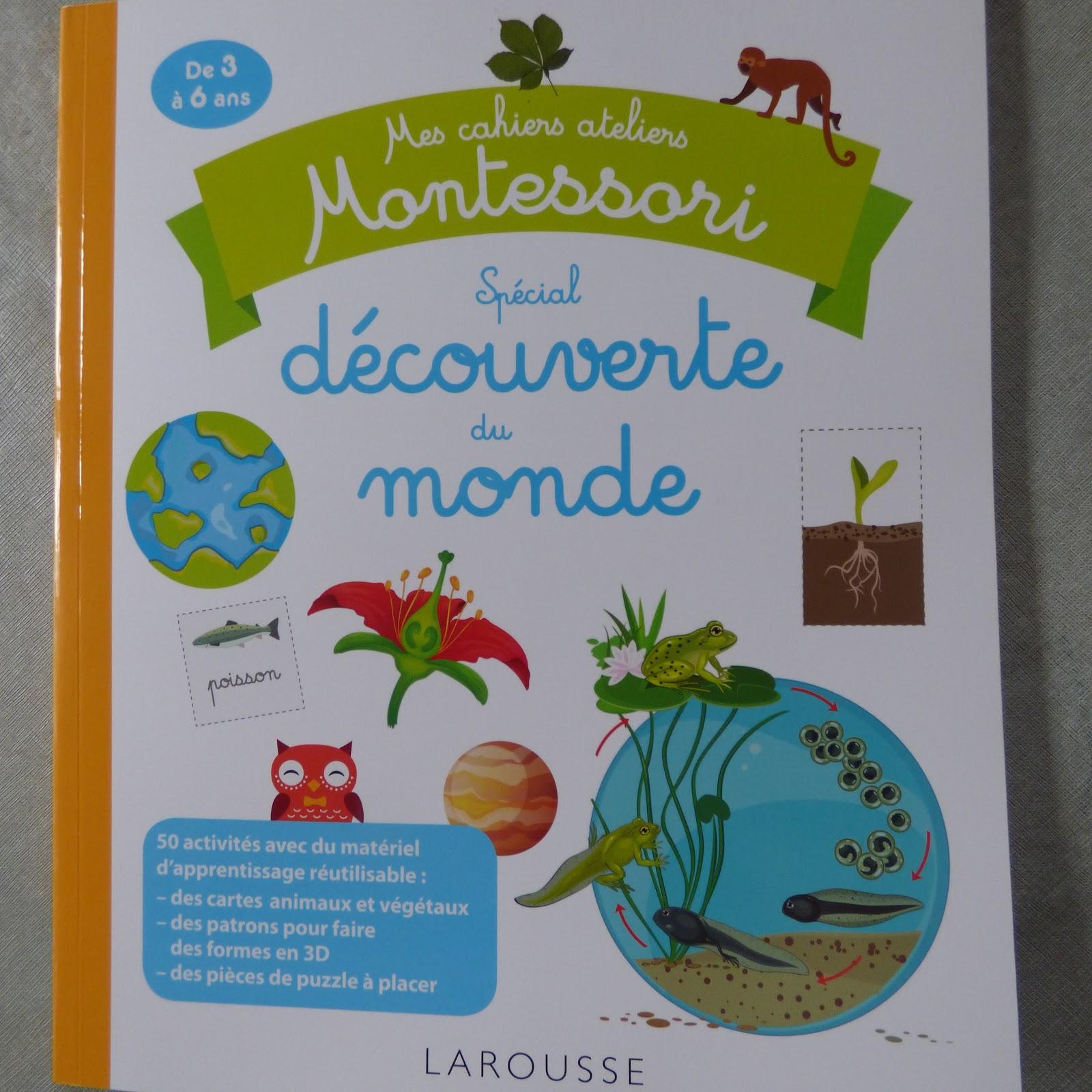 Mon Avis Sur Le Cahier Montessori Découverte Du Monde De destiné Cahier D Activité Maternelle