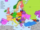 Mon Blog De Français: Carte Des Pays De L'europe | Carte Europe concernant Carte Géographique De L Europe