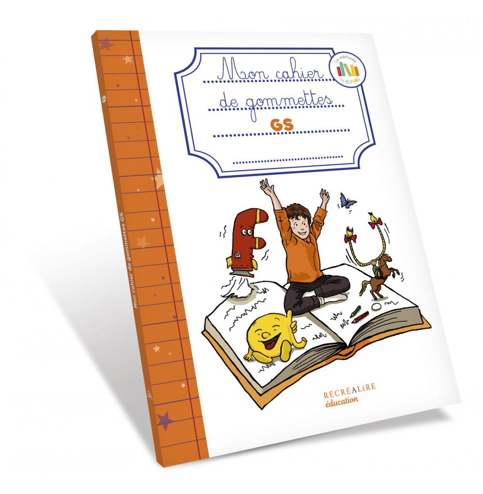 Mon Cahier De Gommettes Gs Les Alphas pour Jeux Educatif Gs