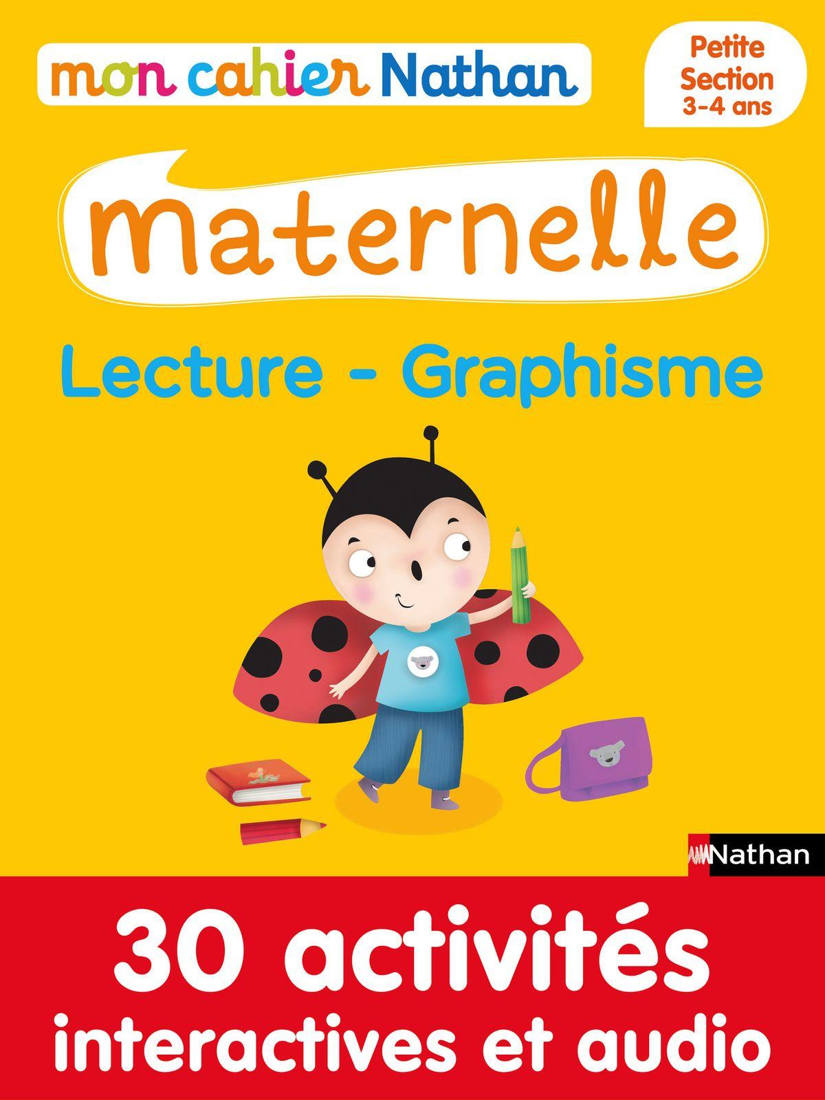 Mon Cahier Maternelle 3/4 Ans Lecture - Graphisme Ebook By Françoise  Kretz-Idas - Rakuten Kobo dedans Livre Graphisme Maternelle