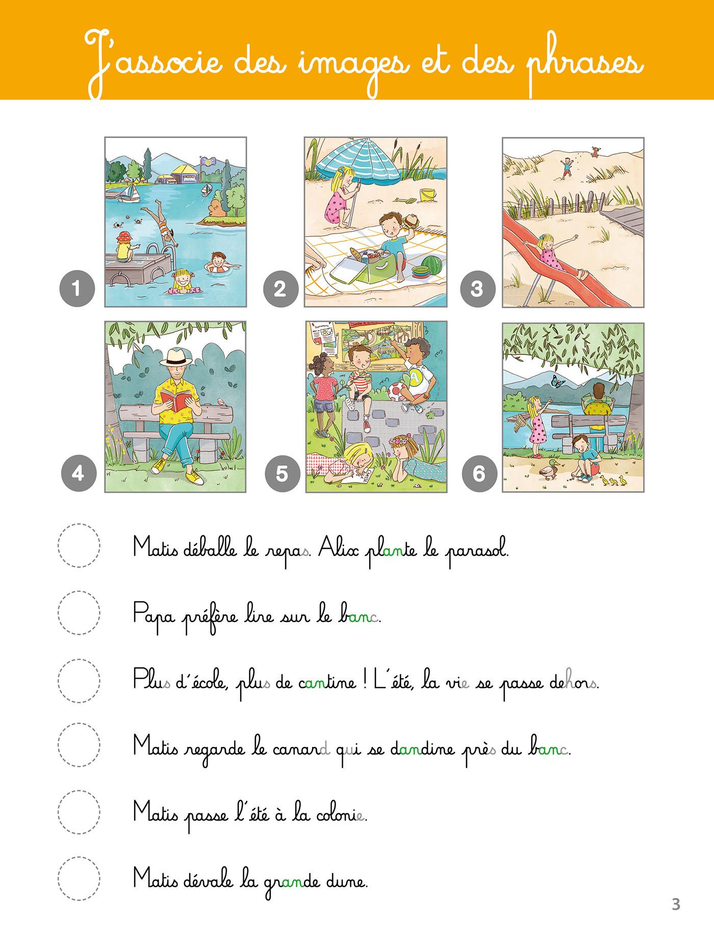 Mon Grand Cahier Montessori De Lecture pour Cahier D Activité A Imprimer