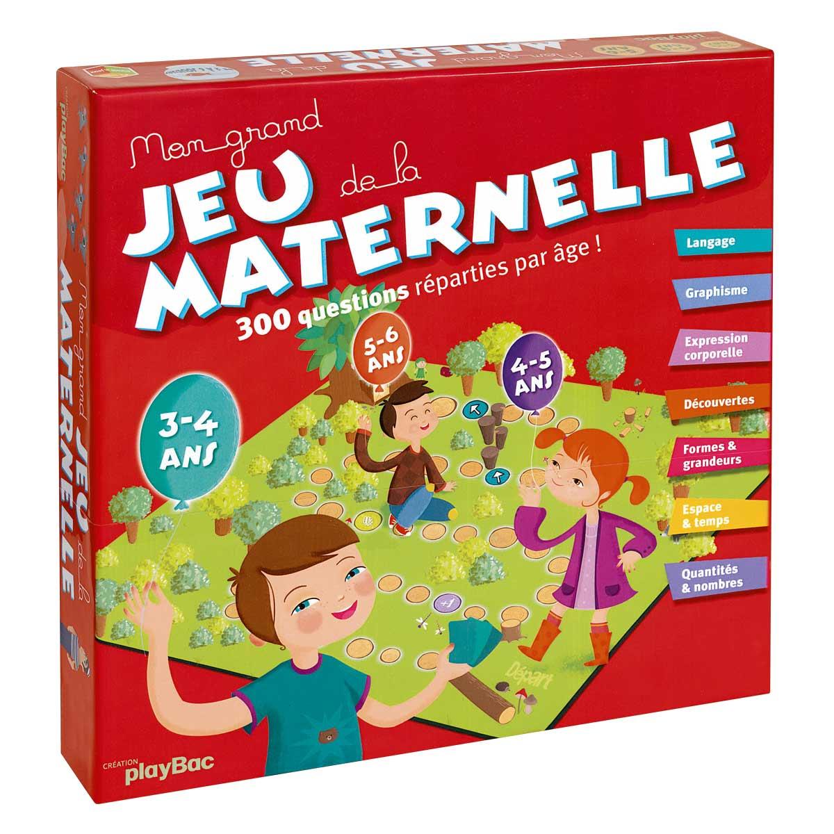 Mon Grand Jeu De La Maternelle à Jeux Educatif Maternelle Moyenne Section