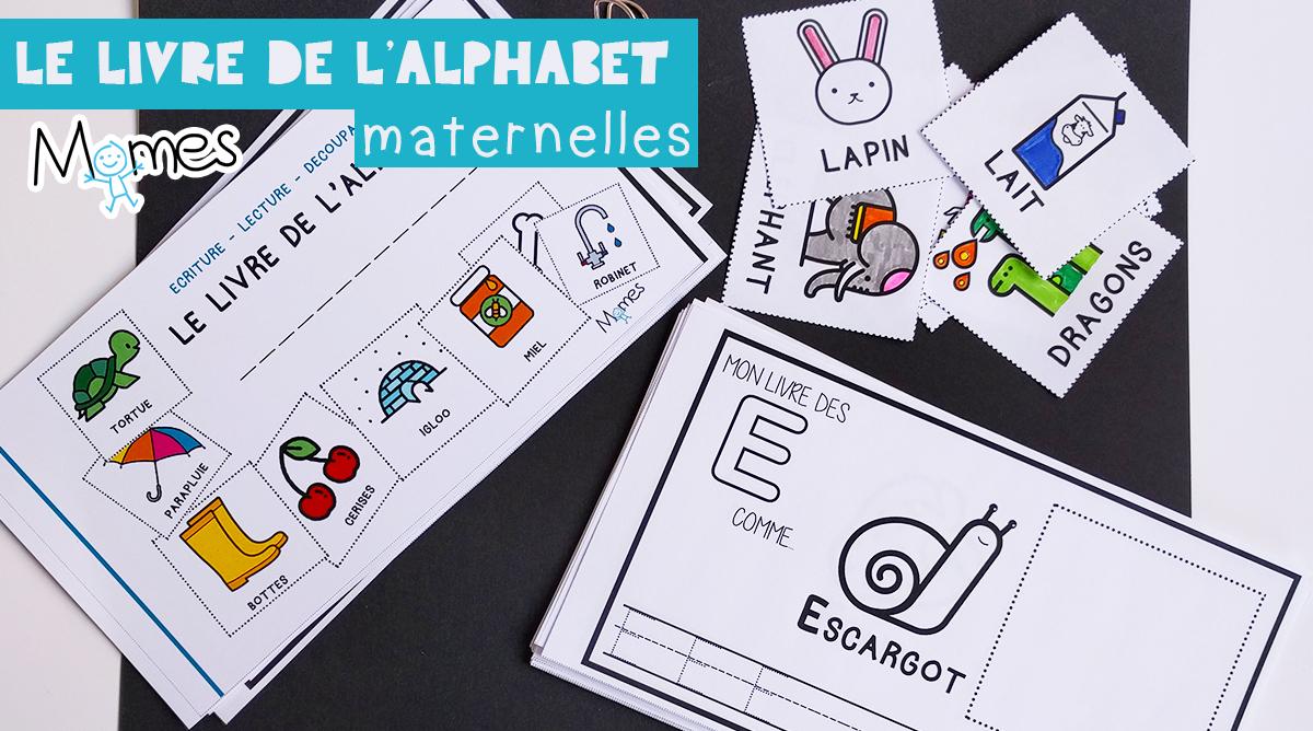 Mon Livre D'alphabet - Ecriture Maternelle - Momes intérieur Apprendre À Écrire L Alphabet En Maternelle