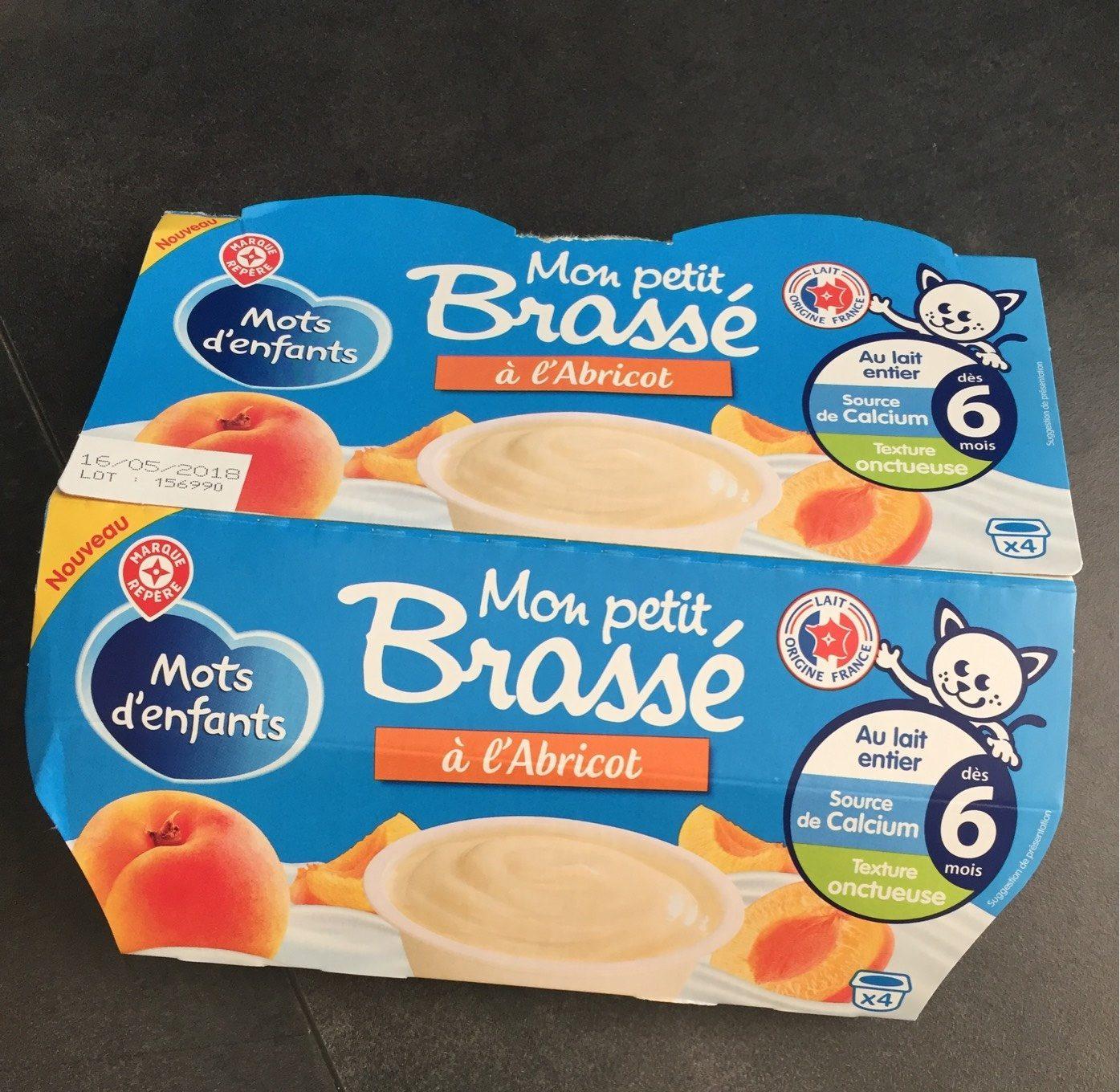 Mon Petit Brassé À L'abricot - Mots D'enfants intérieur Mot Pour Enfant