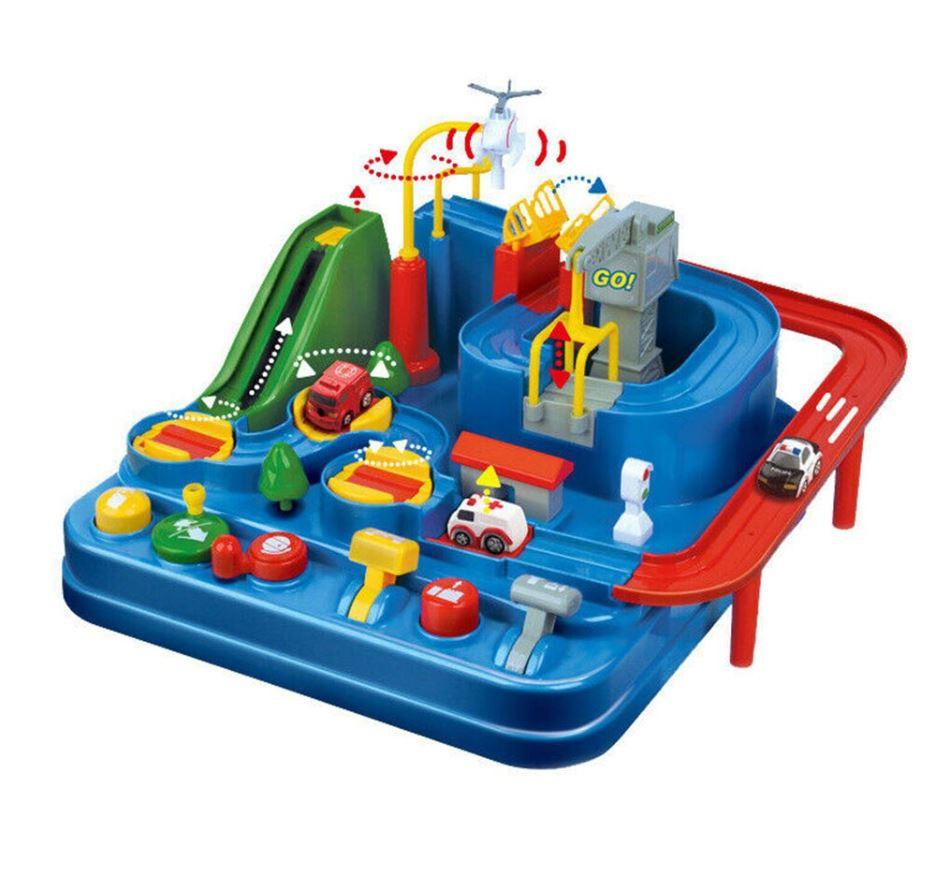 Mon Petit Circuit: Jeu De Voitures Montessori encequiconcerne Jeux De Petite Voiture
