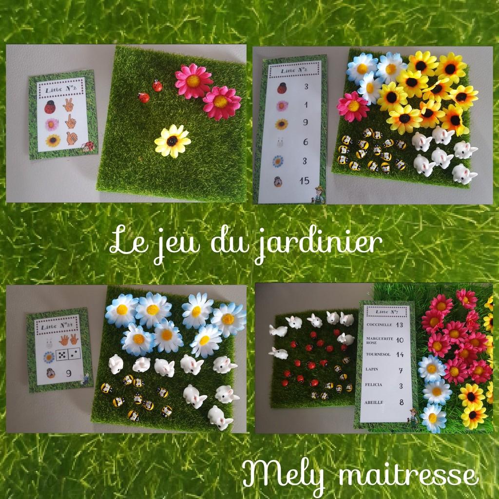 Mon Petit Jeu Du Jardinier - Mes Tresses Dézécolles encequiconcerne Petit Jeu Maternelle