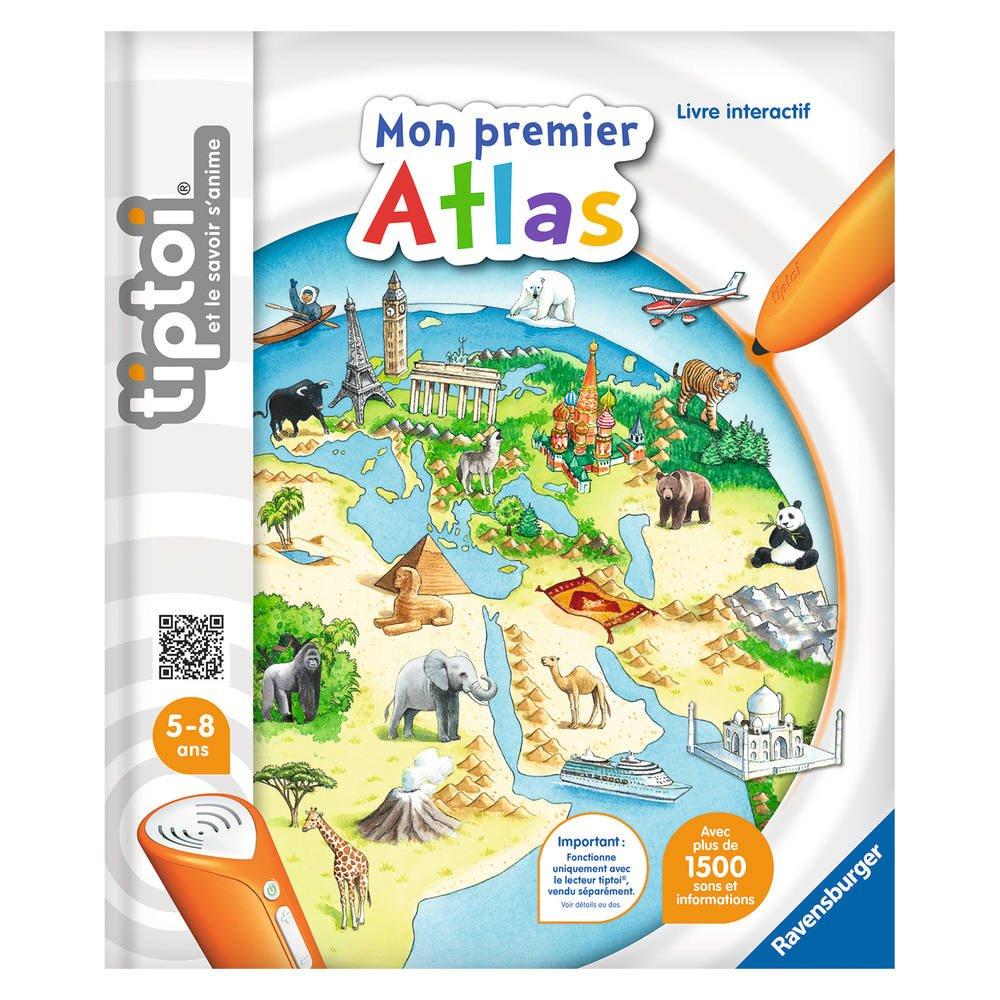 Mon Premier Atlas -Tiptoi tout Jeux Educatif 5 Ans