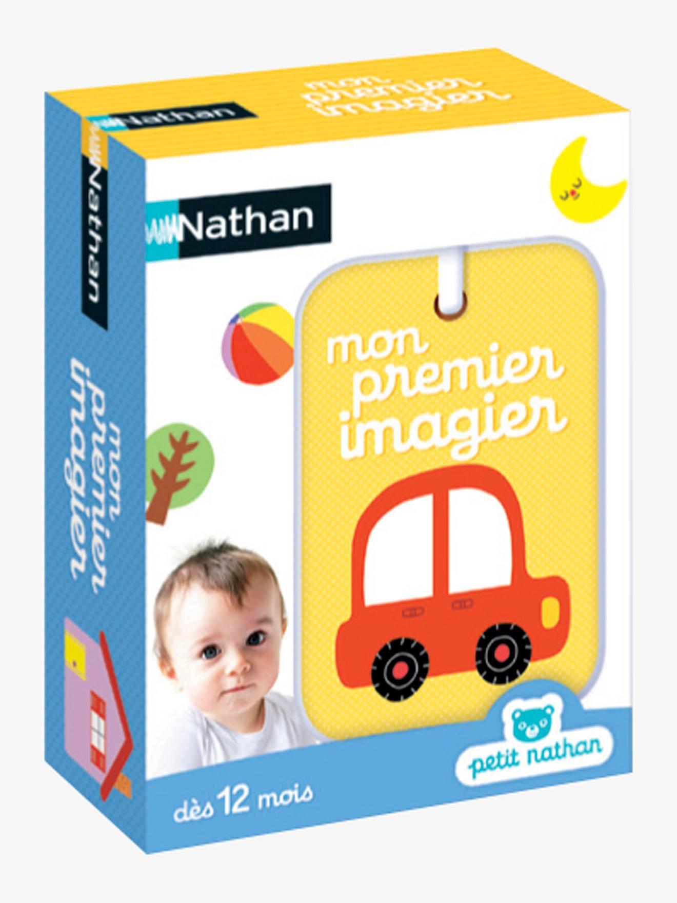 Mon Premier Imagier Nathan Multicolore - Nathan pour Imagier Bébé En Ligne
