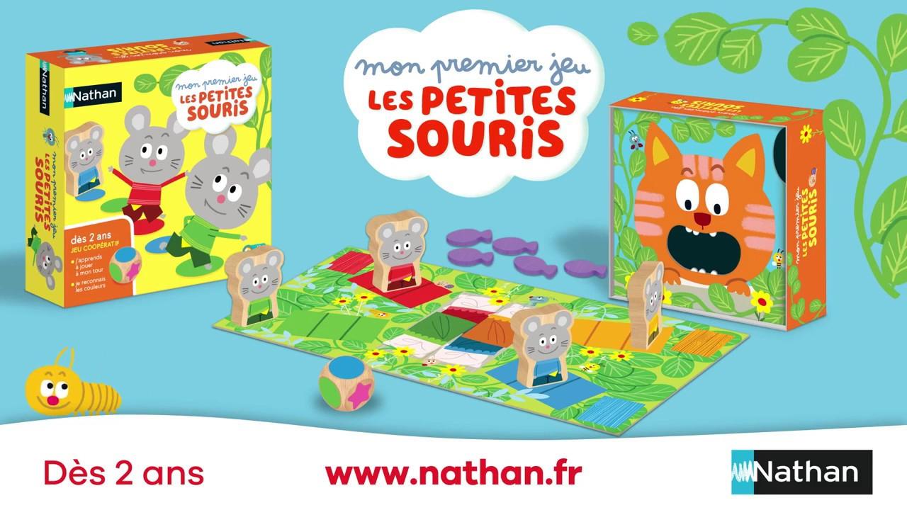 Mon Premier Jeu Les Petites Souris 31305 Nathan Jeux De à Jeux De La Petite Souris