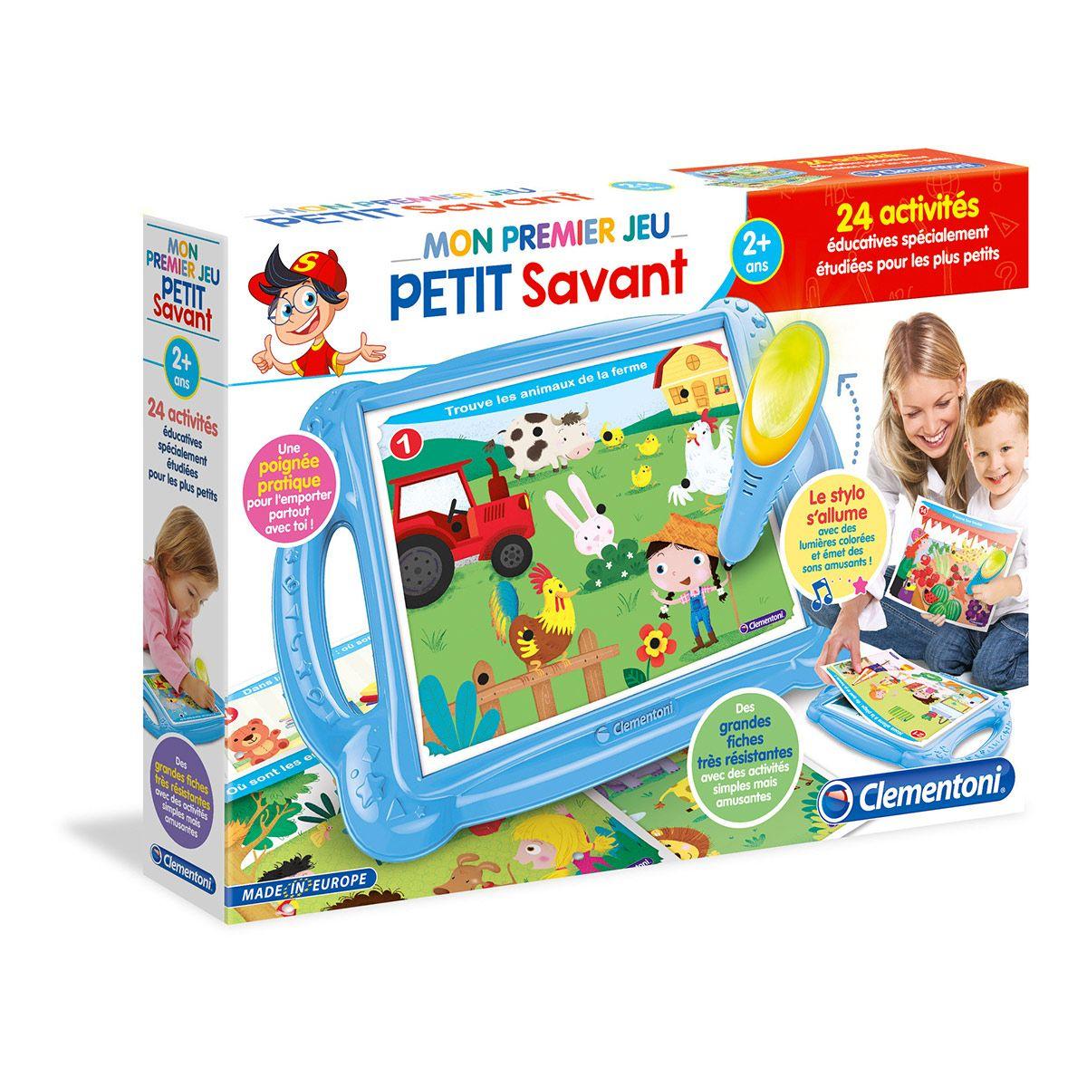 Mon Premier Jeu Petit Savant - 1Ers Apprentissages - La concernant Jeux Educatif Pour Tout Petit Gratuit