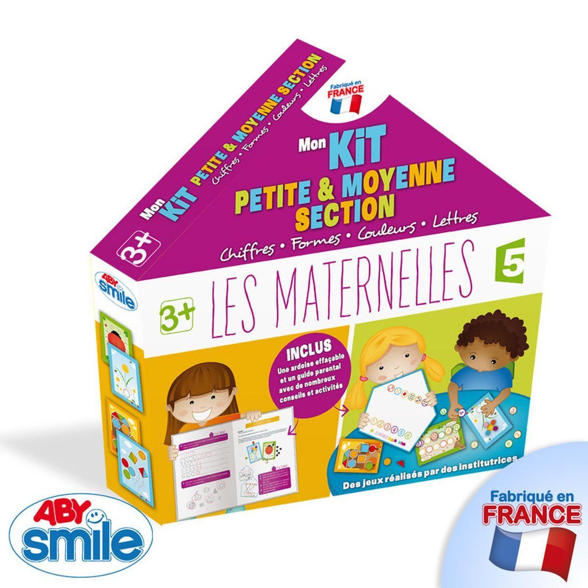 Mon Premier Kit Petite Et Moyenne Section - Apprentissage avec Jeux Maternelle Petite Section Gratuit
