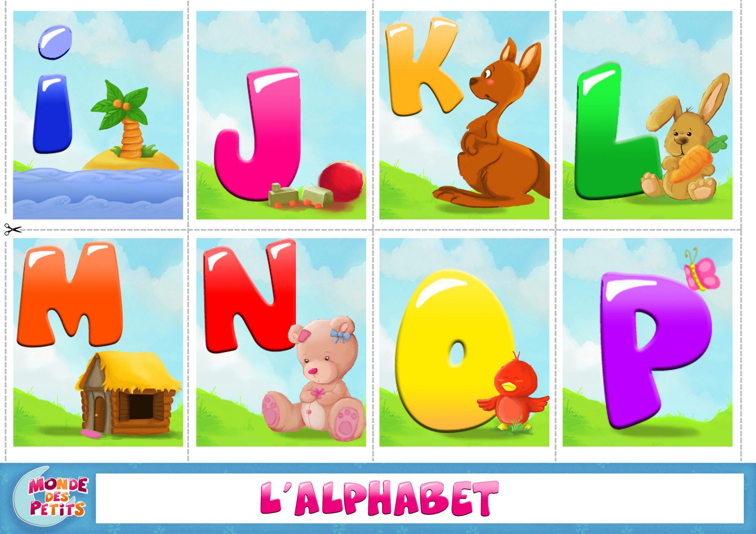 Monde Des Petits - Apprendre En Vidéo avec Apprendre L Alphabet En Francais Maternelle