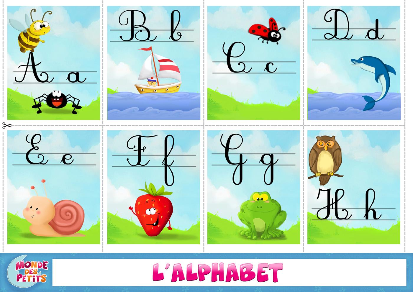 Monde Des Petits - Apprendre En Vidéo serapportantà Apprendre Alphabet Francais