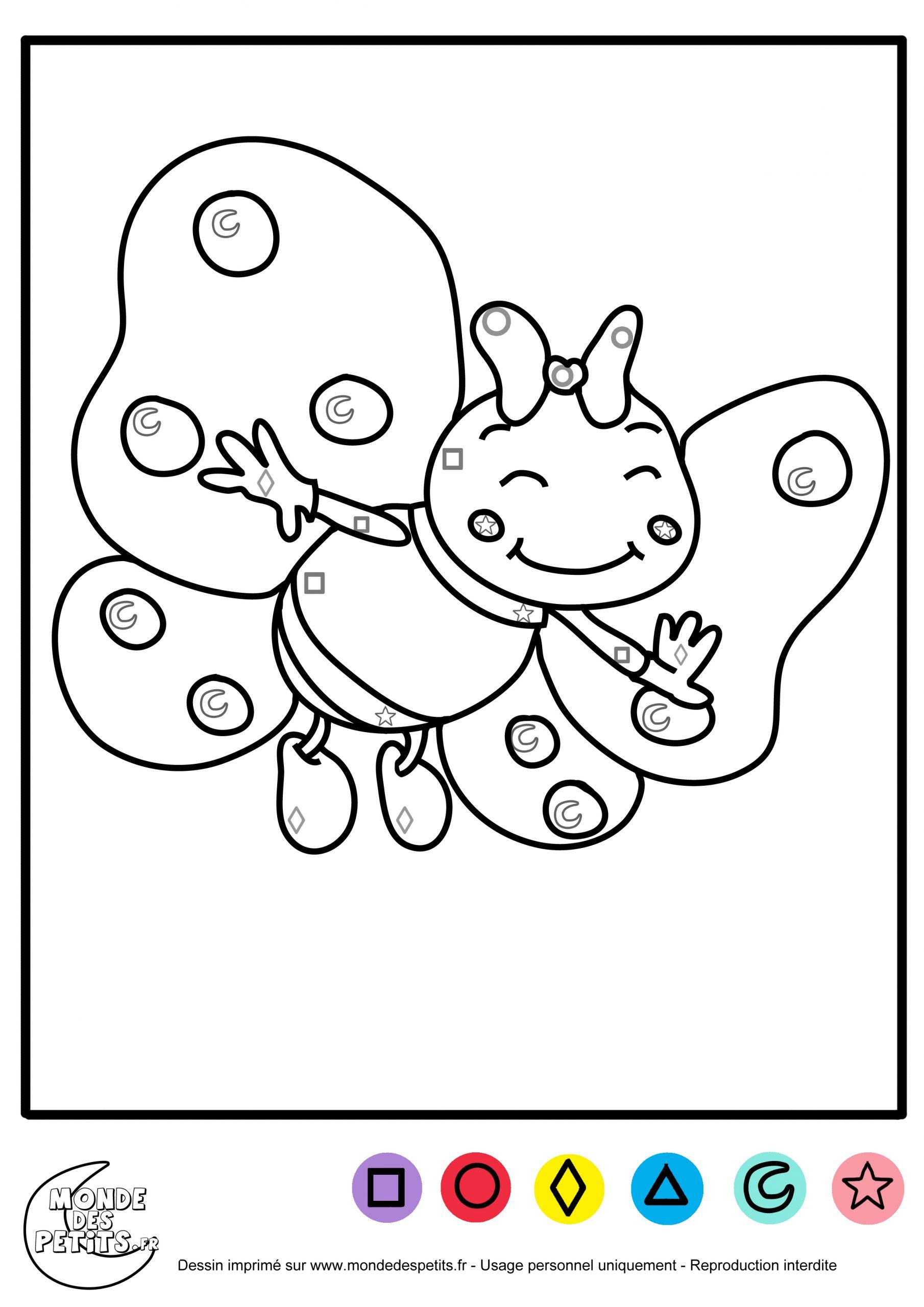 Monde Des Petits - Coloriages À Imprimer encequiconcerne Coloriage Magique Petite Section