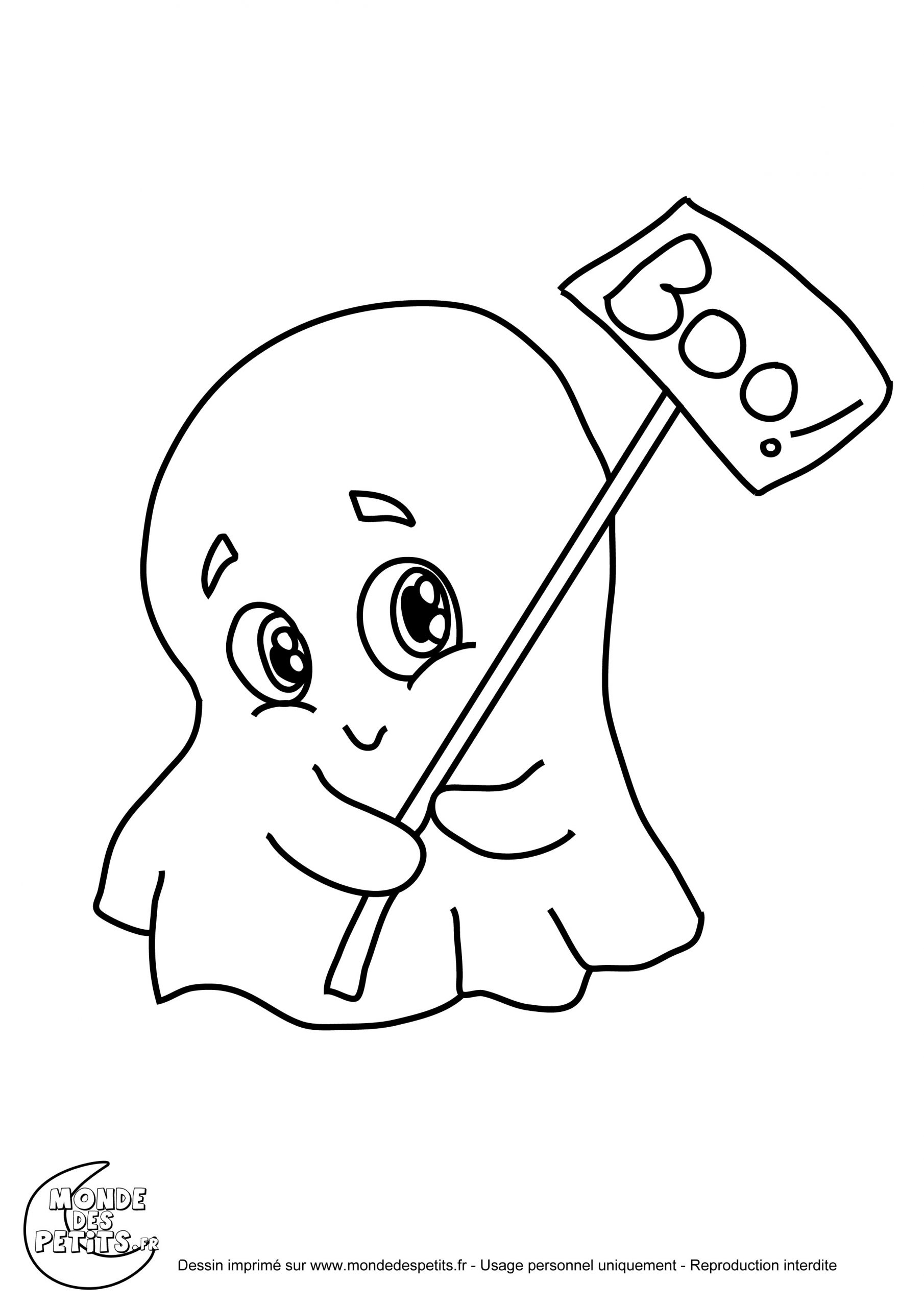 Monde Des Petits - Coloriages À Imprimer encequiconcerne Dessin D Halloween Facile A Dessiner