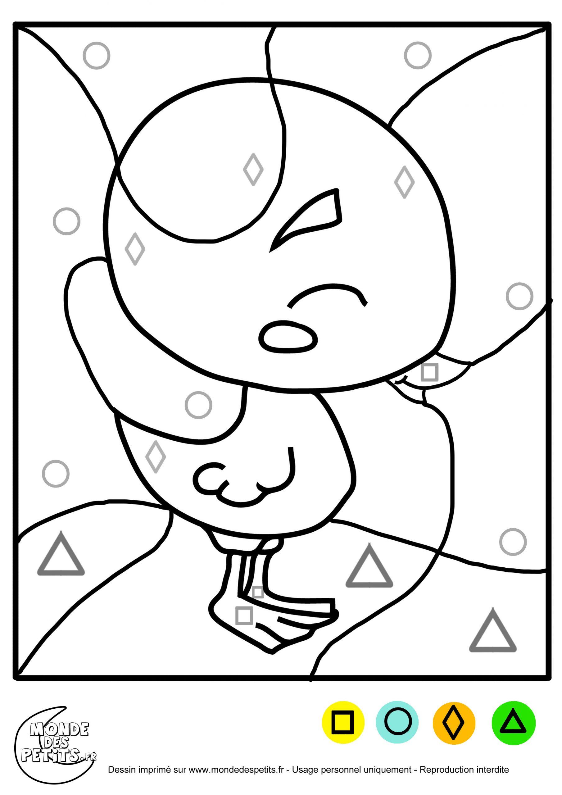 Monde Des Petits - Coloriages À Imprimer pour Coloriage Magique Maternelle Moyenne Section