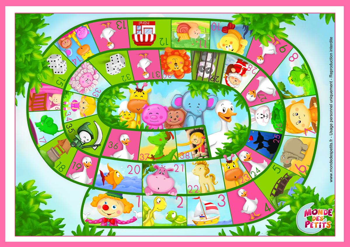 Monde Des Petits - Jeux De Société pour Jeux Maternelle Gratuit