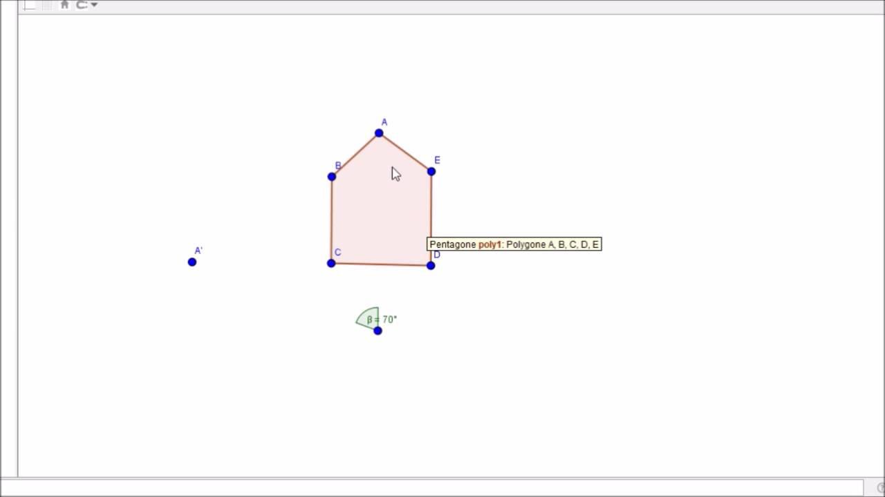 Monplanmaths : Géométrie - Symétrie Axiale, Rotation Et Translation destiné Symétrie Cm1 Évaluation