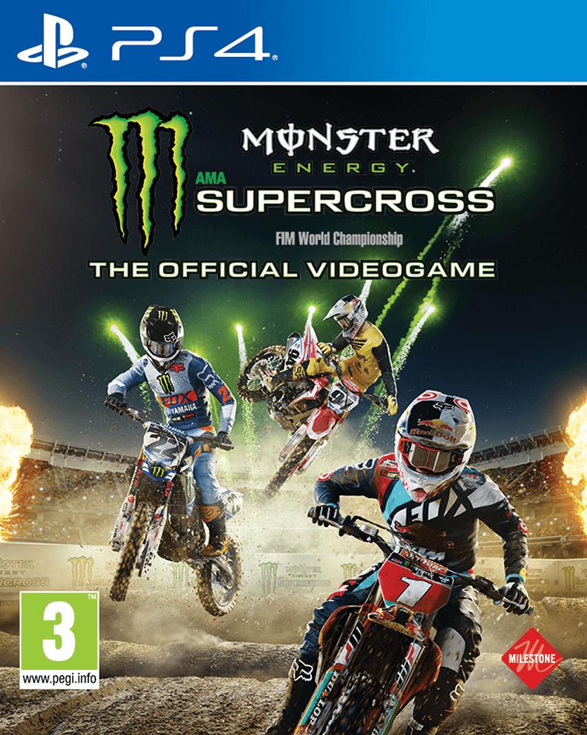 Monster Energy Supercross Sur Playstation 4 - Jeuxvideo concernant Jeux Moto En Ligne Gratuit