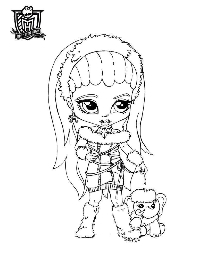 Monster High #14 (Animation Movies) – Printable Coloring Pages pour Image Monster High A Imprimer