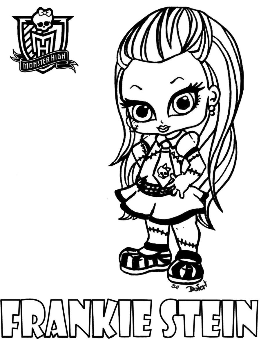 Monster High #57 (Animation Movies) – Printable Coloring Pages intérieur Image Monster High A Imprimer