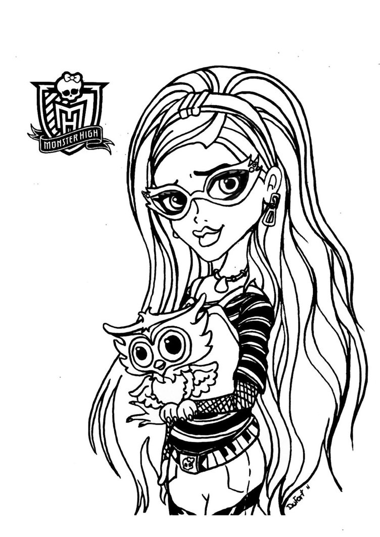 Monster High #65 (Animation Movies) – Printable Coloring Pages dedans Image Monster High A Imprimer