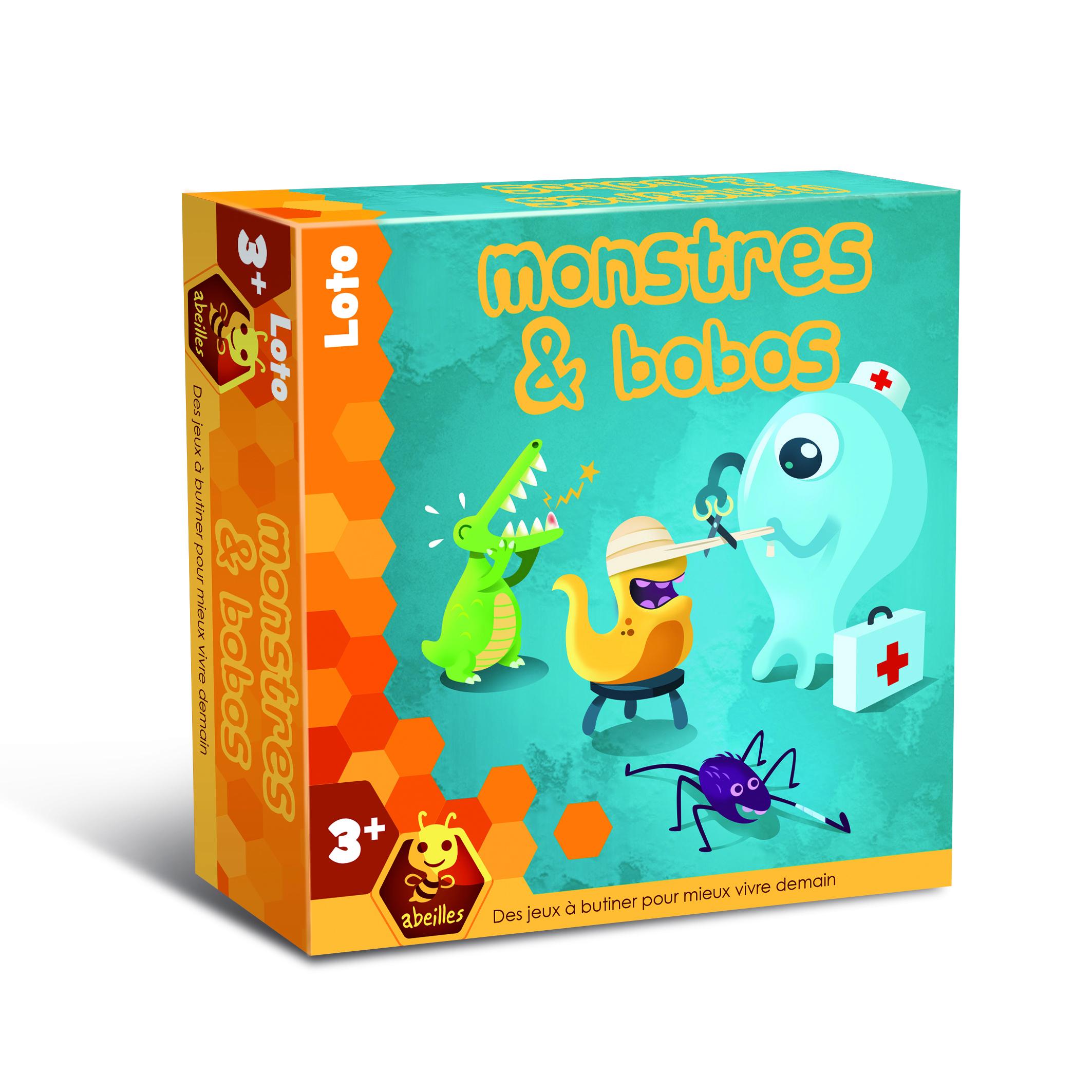 Monstres & Bobos intérieur Jeux Ludique Pour Enfant