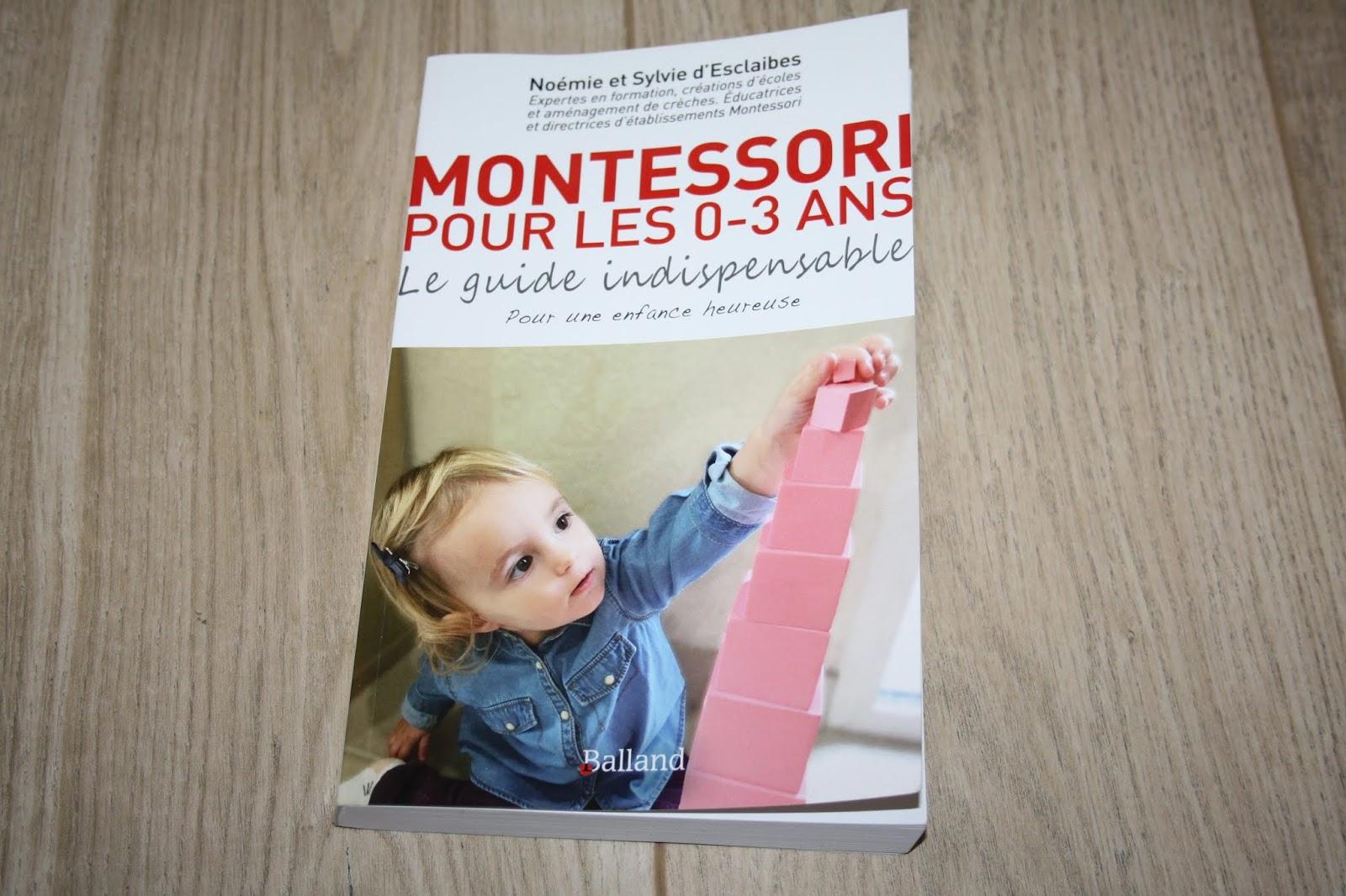 Montessori Pour Les 0-3 Ans : Le Guide Indispensable Pour dedans Activité Montessori 3 Ans