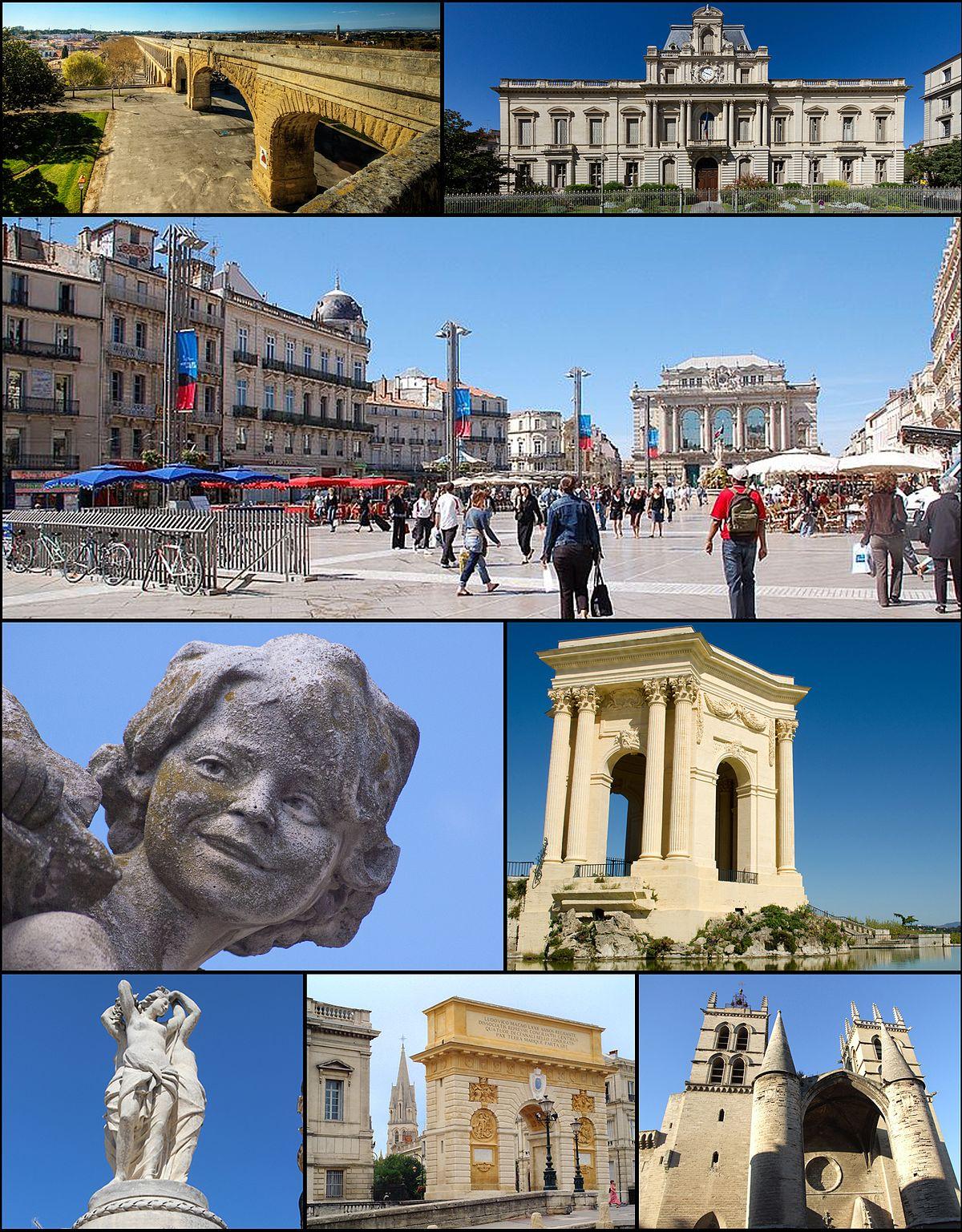 Montpellier — Wikipédia serapportantà Carte De France Ludique