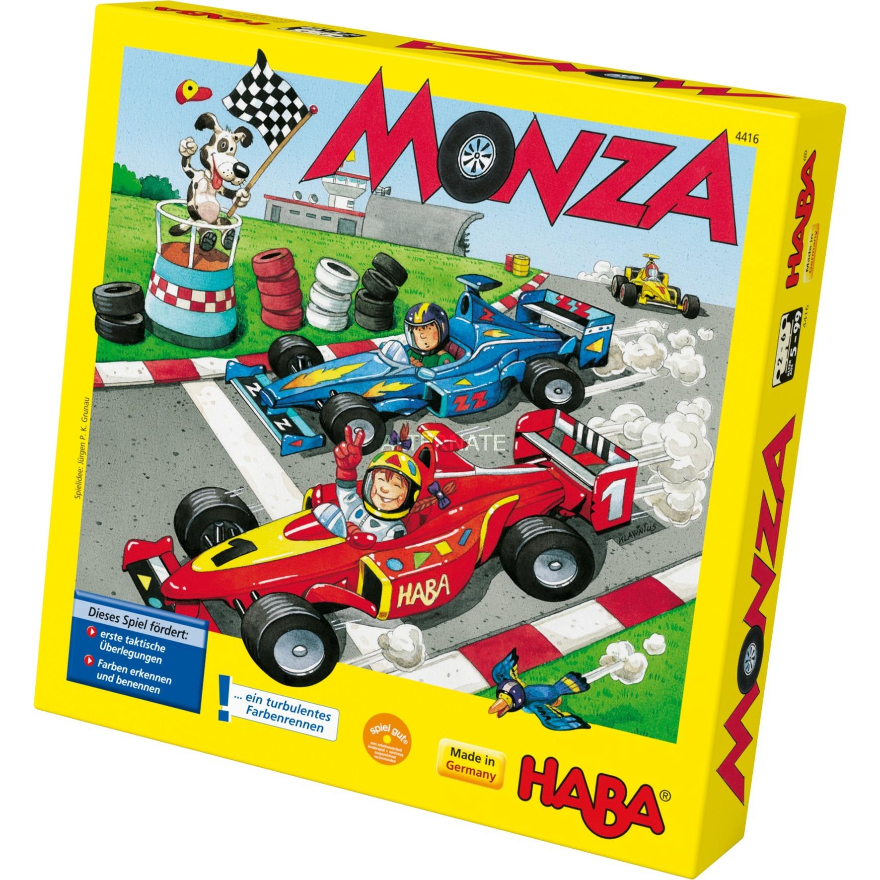 Monza Jeu De Plateau De Course Enfants, Jeu De Dés (Jeu De Plateau De  Course, Enfants, 5 Année(S)) destiné Jeux Course Enfant